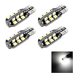 Недорогие Автомобильные фары-SENCART T10 Для кроссовера / Для полицейских автомобилейv / Автомобиль Лампы 6W 700lm 24 Фары дневного света / Подсветка приборной доски