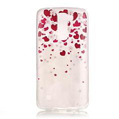 Για Θήκη LG IMD / Με σχέδια tok Πίσω Κάλυμμα tok Καρδιά Μαλακή TPU LG LG K8 / LG K7 / LG K4 / LG G5