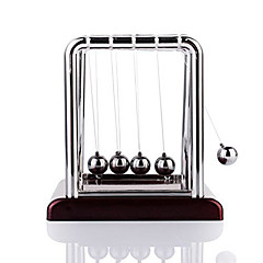 Mini Desktop Newton's Cradle Klassieke Newtons Cradle Balance Ball Science Psychology Puzzel Bureau Speelgoed