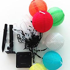 preiswerte LED Lichtstreifen-Leuchtgirlanden 20 LEDs Warmes Weiß RGB Weiß Grün Blau Rot Wasserfest 100-240V