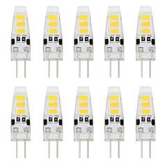 preiswerte LED-Birnen-YouOKLight 10 Stück 2W 150-200lm G4 LED Doppel-Pin Leuchten T 6 LED-Perlen SMD 5733 Dekorativ Warmes Weiß Kühles Weiß 12V