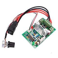 abordables Motores y Partes-120w PWM interruptor de inversión regulador del circuito de velocidad del motor avance / retroceso