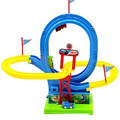 elektrische rail puzzel voertuig speelgoed