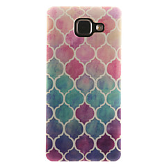 voordelige Galaxy A5 Hoesjes / covers-hoesje Voor Samsung Galaxy Samsung Galaxy hoesje IMD Achterkant Camouflage Kleur Zacht TPU voor A7(2016) A5(2016) A3(2016) A5 A3