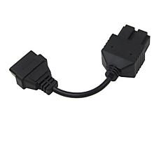 Недорогие OBD-20 р 16 контактный БДС автомобиль преобразование линии квадрат 20-контактный разъем для КИА Кия длиной 7 см