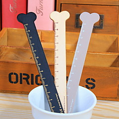 cheap Office Supplies-Bone Wooden Ruler 1 PCS