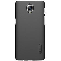 お買い得  その他のケース-ケース 用途 OnePlus ワンプラス3 OnePlusケース Other バックカバー 純色 ハード PC のために One Plus 3 One Plus 3T One Plus X OnePlus