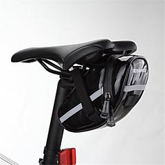 olcso -ROSWHEEL® Kerékpáros táskaNyeregtáska Vízálló / Ütésálló / Viselhető / Többfunkciós Kerékpáros táska PU Bőr / Ruhaanyag Kerékpáros táska