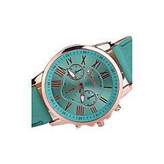 Women's Fashion Watch Casual Watch Casual Watch Quartz Japanese Quartz Leather Band Black White Brown Multi-Colored Strap Watch