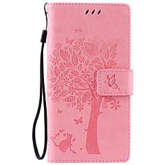 На все тело Визитница / Стразы / с подставкой Однотонные Искусственная кожа Мягкий Card Holder Для крышки случая SonySony Xperia XA /