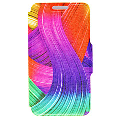 お買い得  iPhone 5S/SE ケース-ケース 用途 Apple iPhone 6 iPhone 6 Plus カードホルダー スタンド付き フルボディーケース ライン/ウェイブ ハード PUレザー のために iPhone 6s Plus iPhone 6s iPhone 6 Plus iPhone 6