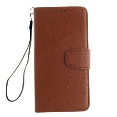 Voor OnePlus hoesje Kaarthouder / met standaard / Flip hoesje Volledige behuizing hoesje Effen kleur Hard PU-leer One PlusOne Plus 3 /