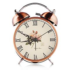 お買い得  クロック-デジタル メタル 目覚まし時計,自動