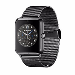 tanie Bestsellery-Męskie / Damskie Inteligentny zegarek Cyfrowe Ekran dotykowy / Pilot / Kalendarz / alarm / Krokomierz / Opaski fitness / StoperStal