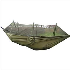 Hamac Camping cu Plasă de Țânțari Rezistent la umezeală Portabil Anti-Insecte Respirabilitate pentru Vânătoare Drumeție Camping Exterior