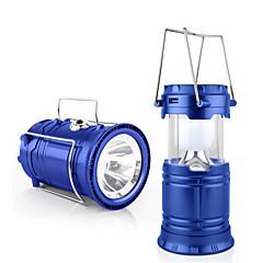 baratos Lâmpadas de LED Inovadoras-Jiawen tenda ao ar livre usb retrátil lâmpada de acampamento solar, levou luz da lanterna para emergências caminhadas