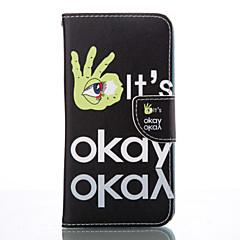 Mert Samsung Galaxy S7 Edge Pénztárca / Kártyatartó / Állvánnyal Case Teljes védelem Case Csempe Puha Műbőr SamsungS7 edge / S6 / S5 Mini