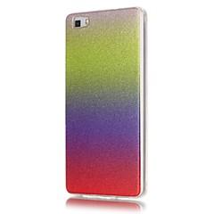 Για Θήκη Huawei / P9 Lite / P8 Lite Other tok Πίσω Κάλυμμα tok Διαβάθμιση χρώματος Μαλακή TPU HuaweiHuawei P9 Lite / Huawei P8 Lite /