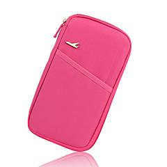 abordables Seguridad durante el Viaje-Monedero de Viaje Portable para Almacenamiento para ViajeRosa Verde Azul Rosa Wine