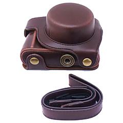 abordables Fundas-dengpin® PU de cuero de la cámara cubierta de la bolsa caso para Panasonic lente 12-32mm GF8 (colores surtidos)