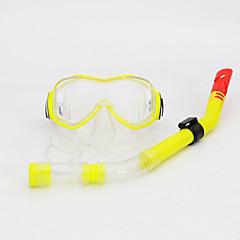 Χαμηλού Κόστους -Μάσκες Κατάδυσης Πακέτα για Κολύμπι με Αναπνευστήρα Αναπνευστήρες Σετ αναπνευστήρα Κατά της ομίχλης Ρυθμιζόμενο Καταδύσεις & Κολύμπι με
