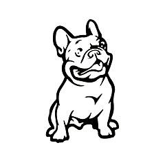 hesapli -ziqiao moda fransız bulldog köpek araba sticker hayvan arabalar hava koşullarına oto stil karikatür araba çıkartmaları çıkartma
