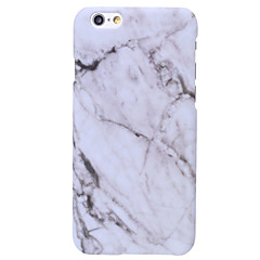 ieftine -Maska Pentru Apple iPhone X iPhone 8 Carcasă iPhone 5 iPhone 6 iPhone 6 Plus iPhone 7 Plus iPhone 7 Model Capac Spate Marmură Greu PC