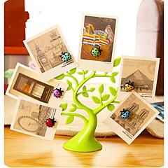 애니멀 벽 스티커 3D 월 스티커 냉장고 스티커 / 사진 스티커,塑料 자료 이동가능 홈 장식 벽 데칼