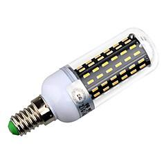 billige LED lyspærer-5000/3300 lm E14 E26/E27 LED-kolbepærer T 96 leds SMD 4014 Dekorativ Varm hvid Naturlig hvid AC 220-240V