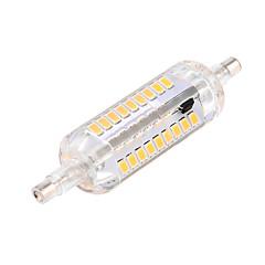 billige Udendørsbelysning-ywxlight® 6w r7s dekorationslampe 60 smd 2835 500-600 lm varm hvidkold hvid dekorative ac 220-240 ac 110-130 v