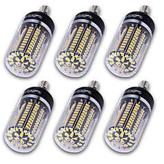 お買い得  LED 電球-YouOKLight 6本 1200 lm E14 / E12 / E26 / E27 LEDコーン型電球 T 120 LEDビーズ SMD 5736 装飾用 温白色 / クールホワイト 220-240 V / 110-130 V / 85-265 V / 6個