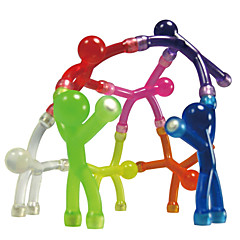 cheap Special Deals-Magnet Toy Mini Q-Man Magnet / Cute Rubber Magnet Men 10pcs Silicone Magnetic Kid's Gift