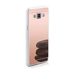 Mert Samsung Galaxy tok Tükör Case Hátlap Case Egyszínű TPU Samsung J7 / J5 / J1 Ace / J1 / Grand Prime
