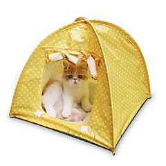 voordelige Hondenbenodigdheden & Verzorging-Kat bedden Huisdieren Matten & Pads Stippen Tent Casual/Dagelijks Geel Groen Roze