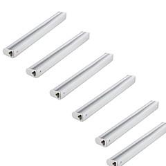 preiswerte LED-Birnen-KWB 6pcs 380lm T5 Röhrenlampen Röhre 24 LED-Perlen SMD 2835 Wasserfest Warmes Weiß Kühles Weiß 110-130V 220-240V
