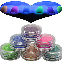 6 Nail Art Decoration Rhinestone Pearls make-up Cosmetische Nail Art Design