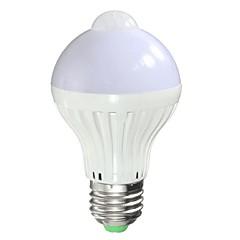 お買い得  LED 電球-5 W 150-200 lm B22 / E26 / E27 LEDスマート電球 A90 5 LEDビーズ ハイパワーLED 自動タイプ / 赤外線センサー 温白色 85-265 V