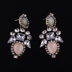 preiswerte Ohrringe-Damen Mädchen Kristall - Krystall, vergoldet damas, Retro Schmuck Beige / Rot / Rosa Für Hochzeit Party