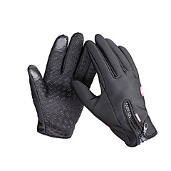 Χαμηλού Κόστους Γάντια Ποδηλασίας-Γάντια Αφής Γάντια του σκι Γάντια ποδηλασίας Ανδρικά Γυναικεία Ολόκληρο το Δάχτυλο Διατηρείτε Ζεστό Αδιάβροχη Αντιανεμικό Αντιολισθητική