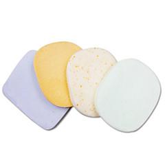 sandepin ® 스크럽 과립 얼굴과 목욕 스폰지 4 조각을 설정