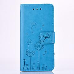 halpa iPhone 6 kotelot-Varten iPhone 7 kotelo / iPhone 6 kotelo / iPhone 5 kotelo Korttikotelo / Lomapkko / Tuella / Koristeltu Etui Kokonaan peittävä Etui