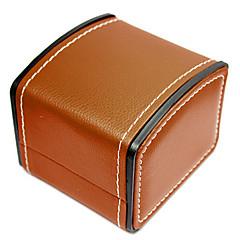 お買い得  ジュエリー用パッケージ&ディスプレイ-PUレザー 本革 時計バンド ストラップ ブラック 20cm / 7.9 Inch 2cm / 0.8 Inch