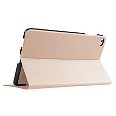 abordables Fundas para Tableta-Funda Para Huawei Carcasas de Cuerpo Completo Funda de Cuerpo Entero Color sólido Dura Cuero de PU para