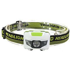 Kerékpár világítás LED - Kerékpározás Vízálló / Kis méret / Night vision / Könnyű AAA 1200 Lumen Akkumulátor Piros / Hideg fehér