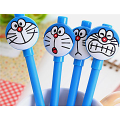 Gel Pen Toll Gél tollak Toll,Műanyag Hordó Kék Ink Colors For Iskolai felszerelés Irodaszerek Csomag