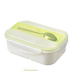 abordables Almacenamiento para la Cocina-Organización de cocina Fiambreras Plástico Fácil de Usar 1pc