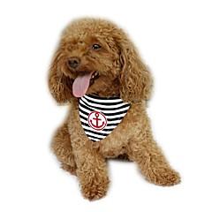お買い得  犬用ウェア&アクセサリー-犬 バンダナ&帽子 犬用ウェア セーラー レッド ブルー コットン コスチューム ペット用 男性用 女性用 ホリデー ファッション
