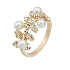 Feminino Maxi anel Moda bijuterias Liga Jóias Para Festa Diário