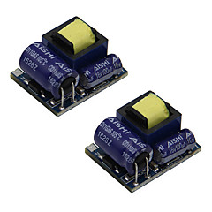 AC 55V277V / DC 70V390V to DC 5V Step-Down Module (2 PCS)
