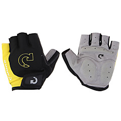 Sports Gloves Bike Gloves / Cycling Gloves Wearproof Anti-skidding Protective Lightweight Limits Bacteria Outdoor Fingerless Gloves Spandex